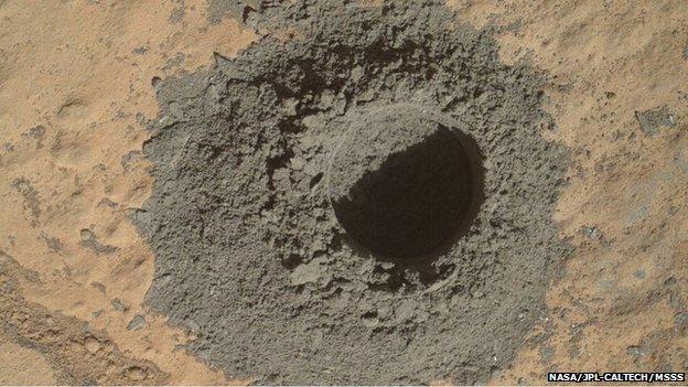 дупка-марс