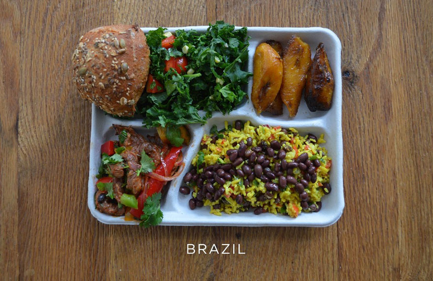 Вижте с какво се хранят учениците по света - Интереснотии