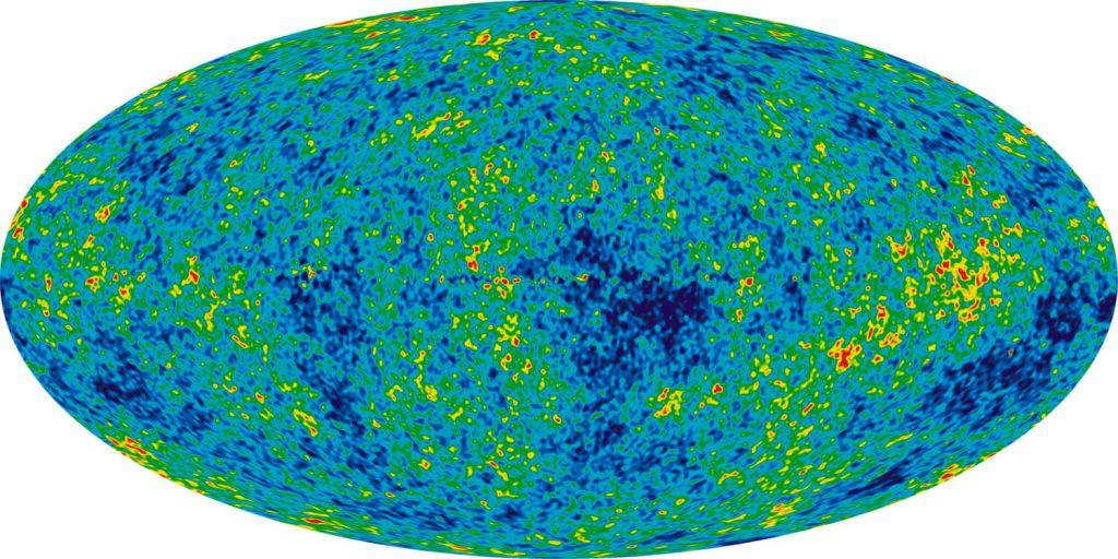 космическо микровълново фоново лъчение, cosmic microwave backround